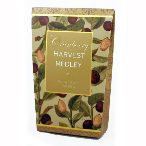 3045 Cranberry Harvest Medley 2oz Cream/Gold Kosher