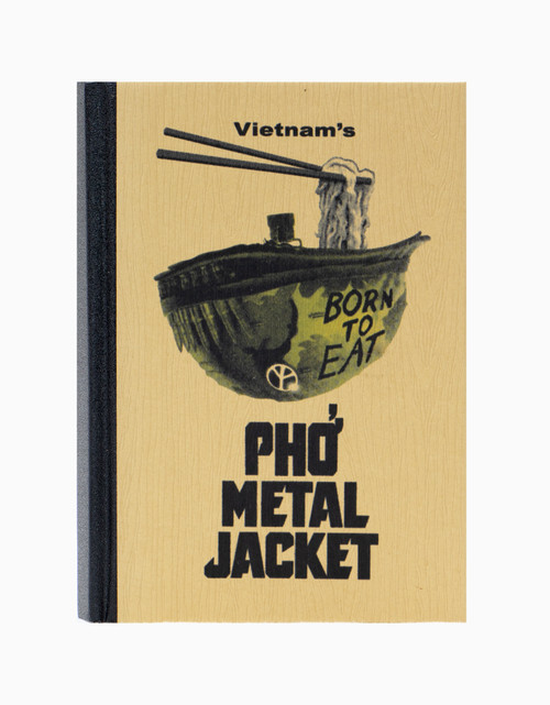 Pho Metal Jacket Notebook