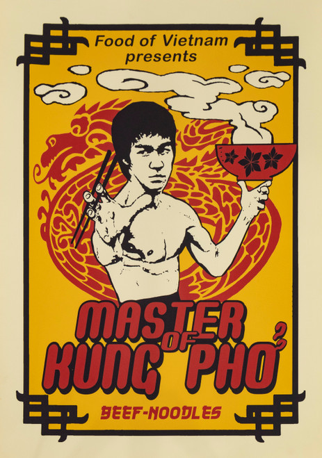 Bruce Lee himself would be proud of this fantastic poster - another flawless take on contemporary pop culture with a typically Vietnamese twist