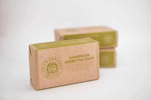 Handmade Green Tea Soap, pack of 4