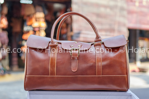 Nothing says style and sophistication like genuine, handmade leather luggage - get yours today!