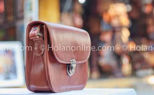 Superior quality hand-stitched buffalo leather purse