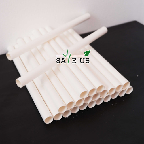 White Paper Straws - 1000/pack