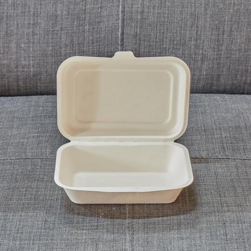 100% plant fiber food container