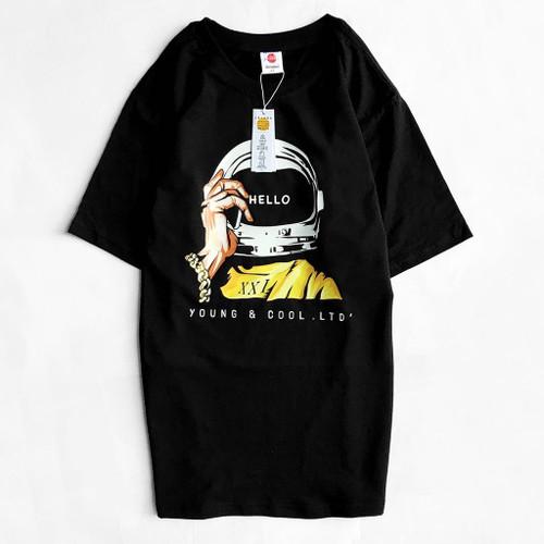 Cotton T-shirt Hello