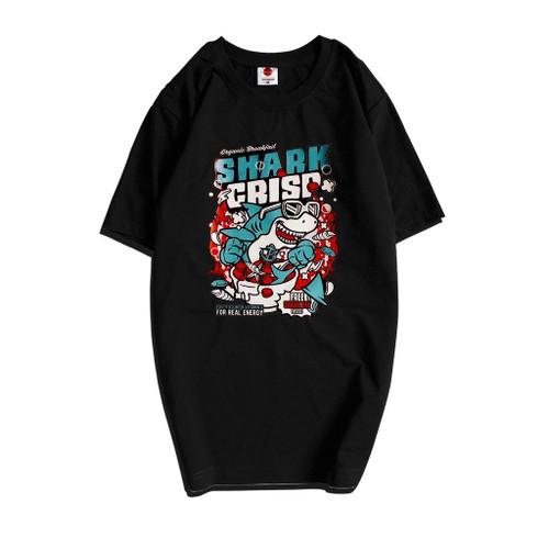 Cotton T-shirt Shark
