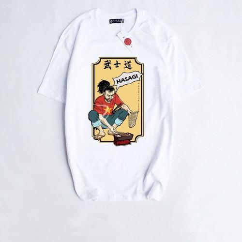 Cotton T-shirt BBQ Man
