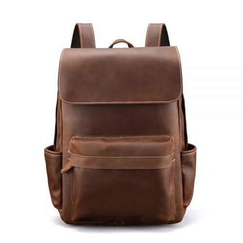 Cowhide backpack 001