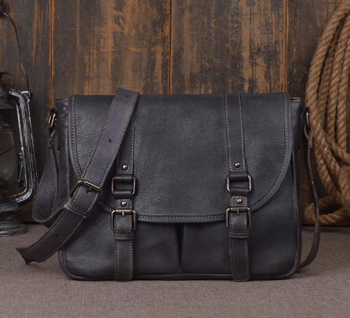 Leather Cross Briefcase