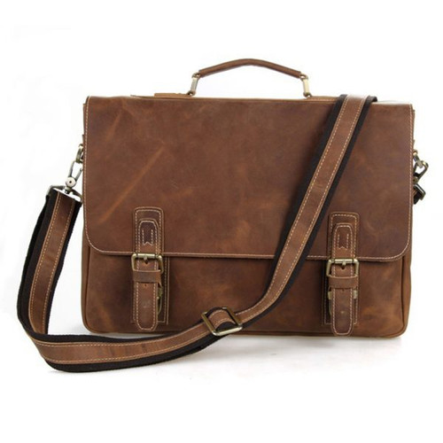 Classic leather Crossbag