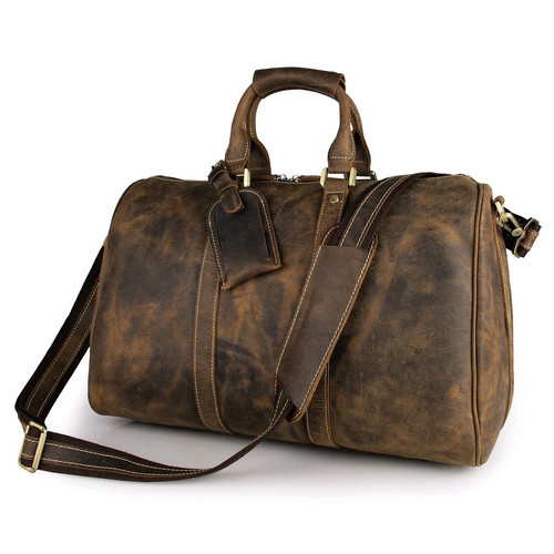 Dusty brown Travel Bag - Unisex