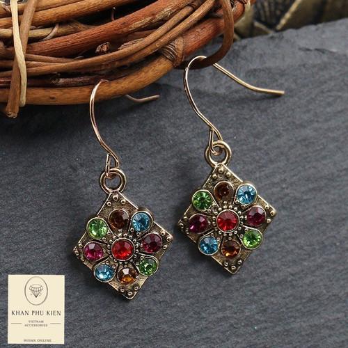 Bohemian earrings - Rhombus