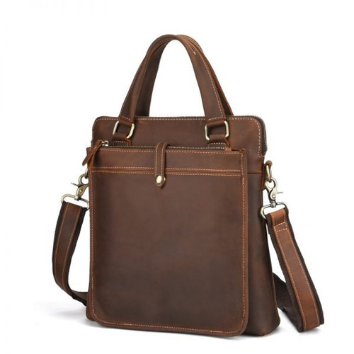 Cowhide Handbag Macbook for men