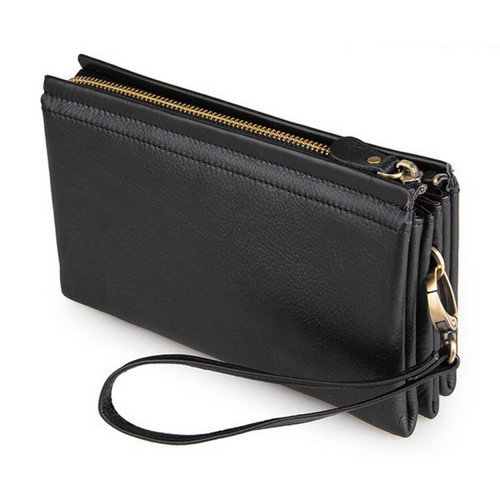 Hand-held Men's Leather Wallet