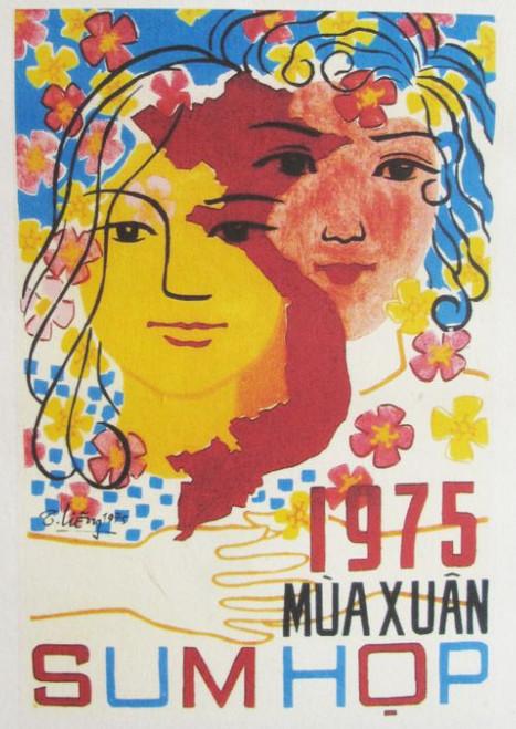 Vietnam spring reunion 1975 poster
