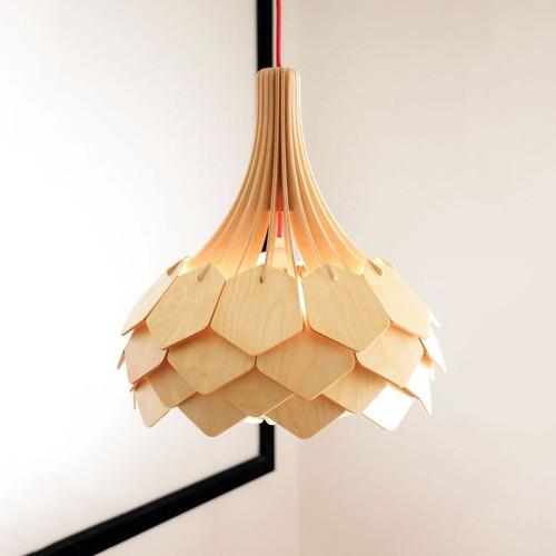 Wooden Jasmin Lamp - 01