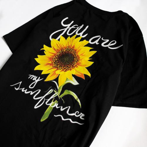 Cotton T-shirt Sunflower
