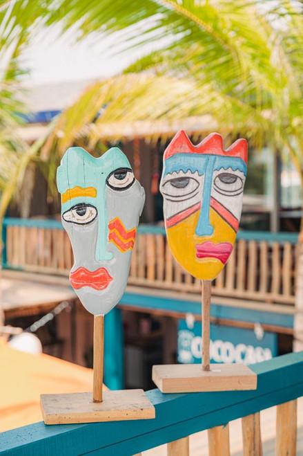 Clown Face - House Art Decoration