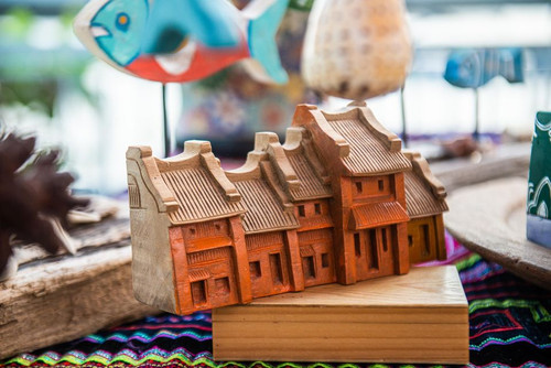 Handcrafted Ancient House - House art decoration