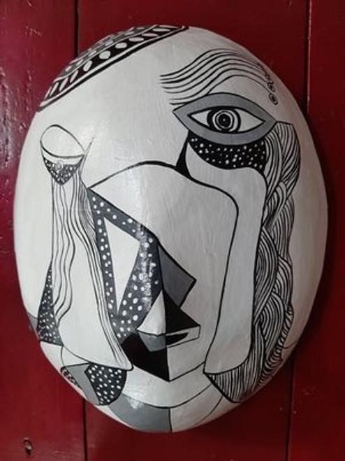 Contemporary Face Mask Decoration - NO.24