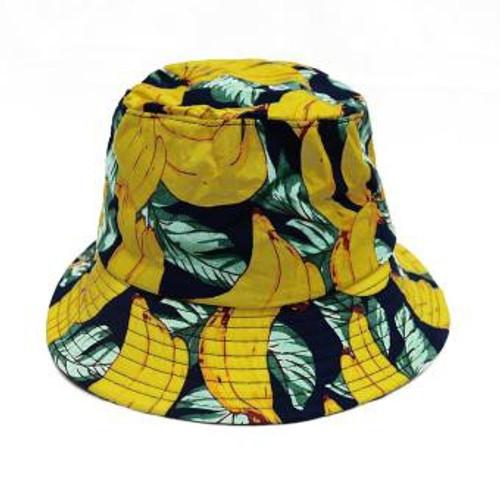 Banana / Watermelon & Pineapple bucket hat