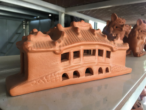 HoiAn Bridge - Pottery Sculpture - NO.01