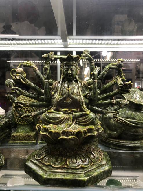 Artistic Buddha statue