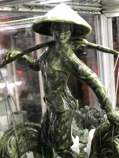 Vietnamese woman statue