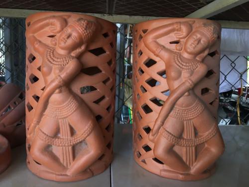 Light Holder - Champa Potter Sculpture - No. 09