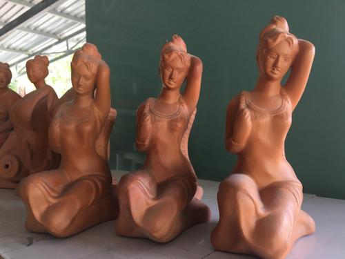 Beauty of Minority Women - Potery Sculpture - No.11