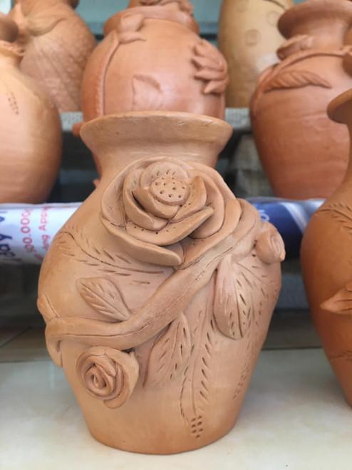 Rose Vase - Pottery Decoration - No.13