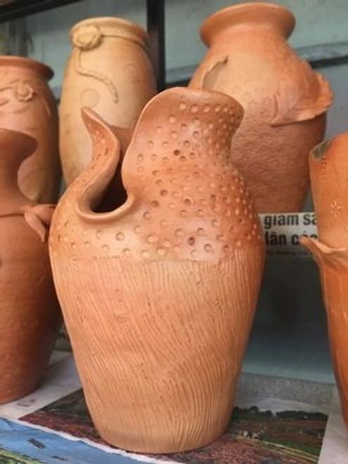 Patterned Vase - Pottery Decoration - No.14