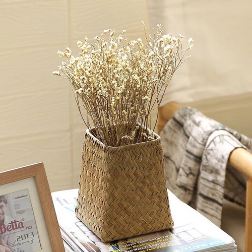 Sedge flower basket