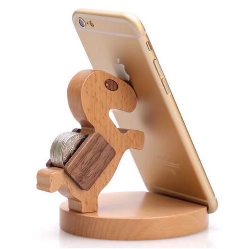 Versatile phone holder of dinosaur