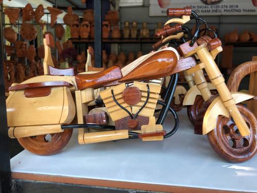 Wooden Motobike - Vespa/ Motocycle - House Decoration - No.32