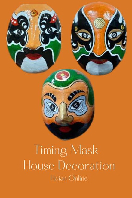 Special Combo 3 Orange Masks - Carnival Men Masks