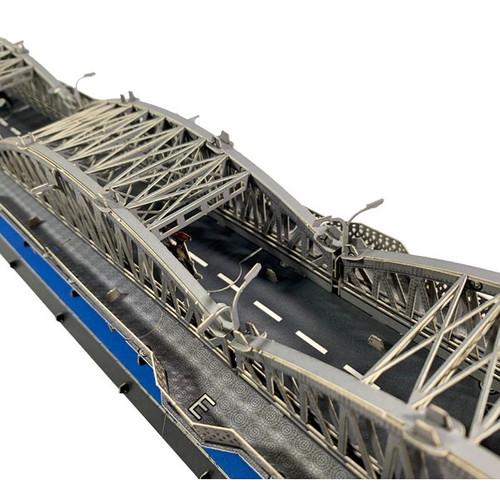 The 3D Paper Self-Assemble Model of Truong Tien Hue Bridge - Size 37cm x 24cm x 15cm