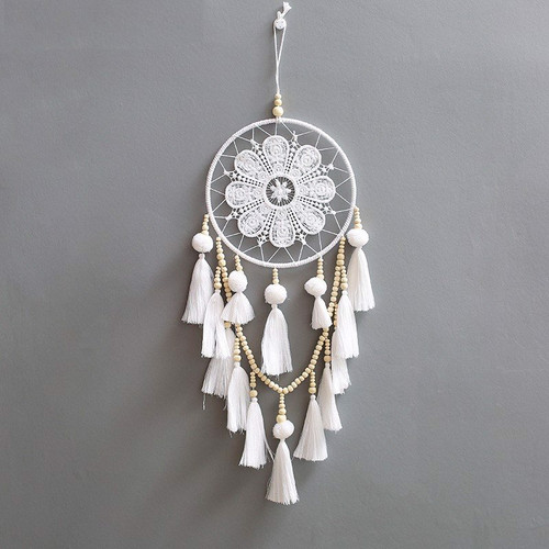 Floral dreamcatcher – Wall hanging decoration