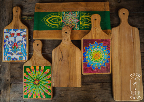 Decorative Wooden Cutting Boards - 3 Size