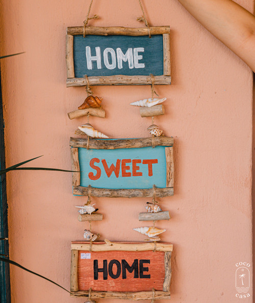 """""""Home Sweet Home"""" Sign - Wall Decoration"""