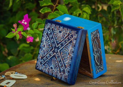 Vintage Jewely Box - Natural Wood - New Collection