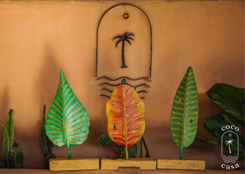 Decorative Wooden Leaf - New collection - 3 Models