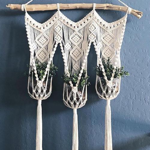 Decorative plant hangers 007