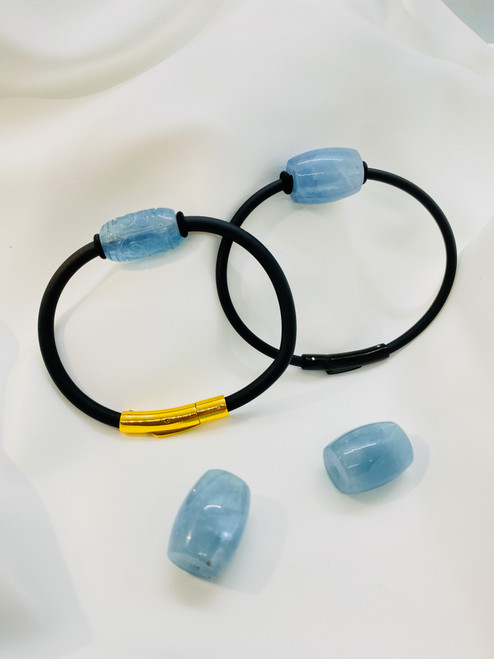 The Aquamarine Stone Bracelet