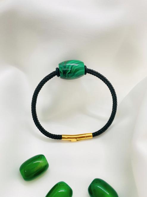 The Malachite Stone Bracelet