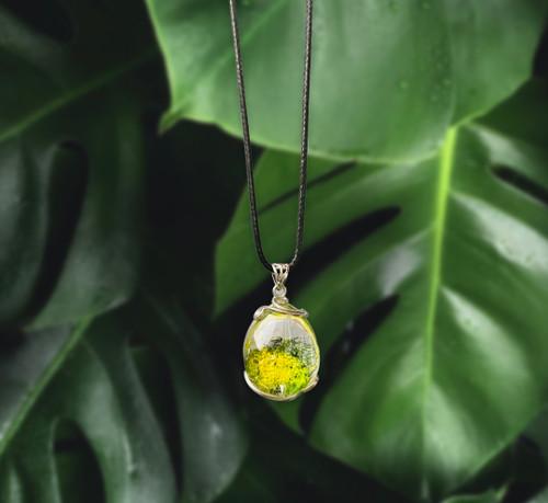 The natural Garden Quartz Necklace