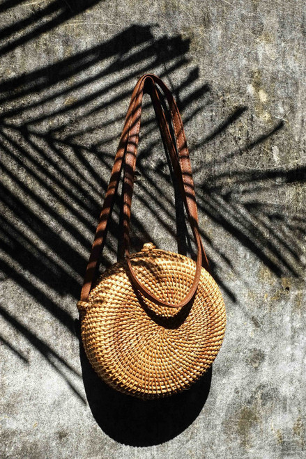 Simple yet stylish - this 100% bamboo bag is sure to turn heads