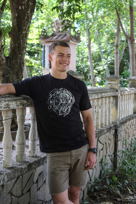 Inspired by ancient mazes, the Symbol t-shirt from Hot Chili Designs is a perfect blend of old and new. Get yours today!