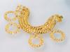 Monet Charm Bracelet Hoops