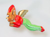 Rare Christmas Elf pin from the 1940's